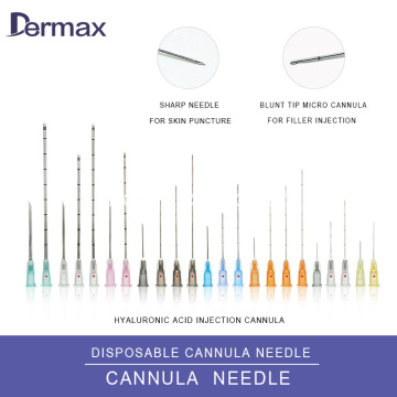 Sterilisasi Body Micro Cannula Piercing Needles Blunt Tips