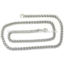 Fashion High Quality Metal Twisted Rope Chain Necklace