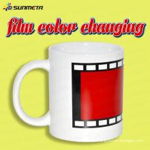 YiWu Sunmeta heat sensitive sublimation color changing ceramic mug