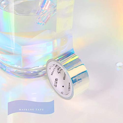 Holographic Rainbow Colored Masking Tape 5