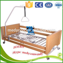 Home care five function electric adjustable bed control
