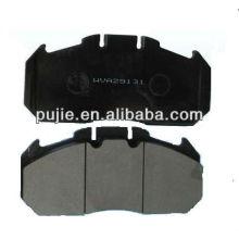 Performance comfortable non-asbestos brake pad for Audi