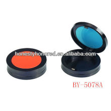 2013 new Plastic cosmetic powder compact case for cosmetic packing