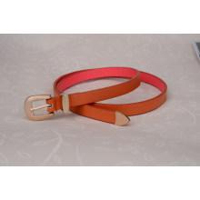 Woman fashion dressing pu leather belt