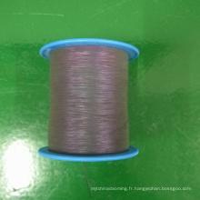 fil réfléchissant irisé de lumière élevée pour pull tricot