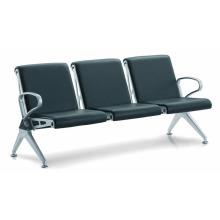 Chaise d'acier de chaise d'aéroport de prix avec le coussin (DX708LAL)
