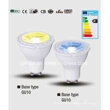 Цветной светодиодный лампа GU10-цвет