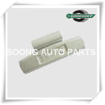 O aço da série de AW / grampo de Fe em pesos do contrapeso da roda para liga a roda, revestimento de poliéster da cola Epoxy, qualidade super