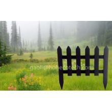New Design Patio WPC Garden Fence Wood Composite Farmhouse Fencing