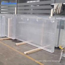 50mm transparent acrylic glass swim pool wall panel