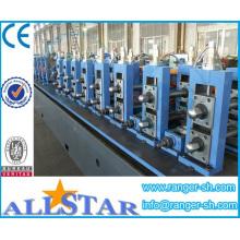 Máquinas para producción de tubos de acero en redondo, cuadrado y rectangular