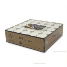 Teelichtkerzen für weiße Kerzenfirma des Verkaufs