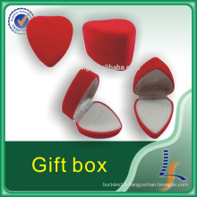 Red Luxury High Quality Jewelry Ring Box