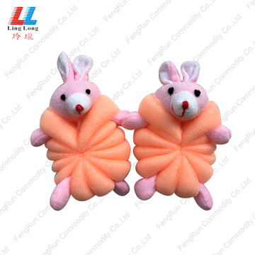 Children animal cute bath sponge