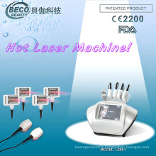 650nm Lipolaser Diode Laser Slimming Salon Beauty Machine (LS651)