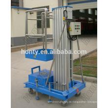 Hontylift Mobile hydraulische Leiterliftplattform aus Aluminium