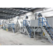 Maquinaria de reciclagem do frasco do animal de estimação 500-6000kg / H