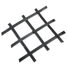 PP two-way plastic geogrid is used for geotechnical reinforcement of retaining wall and pavement