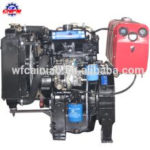 4 cursos de água arrefecidos 2 cilindros do motor diesel 2105d