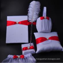 Кристалл и жемчуг Свадебный цветок девушка корзины искусственный цветок корзины свадебные корзины цветка с бисером узор