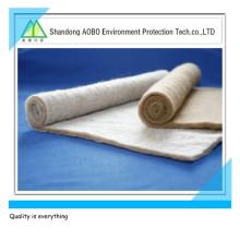 Matériau de remplissage mélangé de polyester filé au peigne / Coton thermofusible