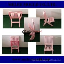 Plastic faltbare Kinder rosa Stuhl Schimmel