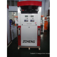 Zcheng Red Color Benett Distributeur de carburant Double pompe