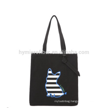 Portable outdoor fashion canvas beach shopping bag