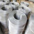 Malha de arame de aço inoxidável anti-abrasão do filtro do Weave liso