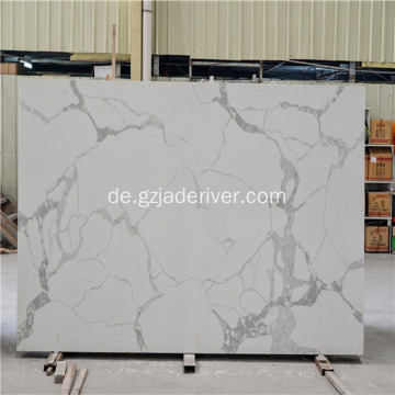 Küche Pearl White Quartz Cabinet Counter