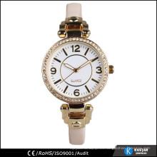 Cuarzo reloj de señora mujeres, mini correa reloj