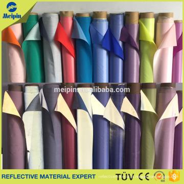 Rolos de tecido reflexivo leve alta para roupa de segurança reflexiva