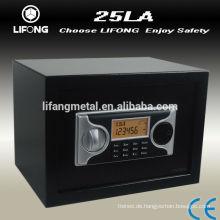 LCD Bildschirm elektronischer Safe, sicher zu Hause, Schließfach, den Rücken an die Wand zu Schrauben