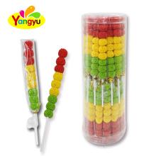 9PCS Halal Traffic Light Fruits Jelly Ball Soft Candy