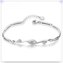 Kristallschmucksache-Art- und Weiseschmucksachen 925 Sterlingsilber-Armband (SL0079)