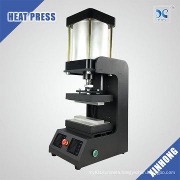 High pressure pneumatic heat rosin press
