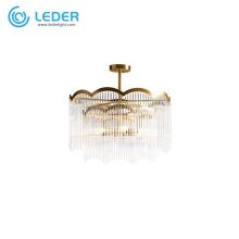 Lustres traditionnels en cristal perlé LEDER