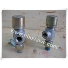 """Bsp Threaded Hand Lever Manual Pressure Safety Valve (A21H-3/4"""")"""