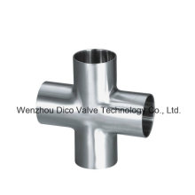 Stainless Steel Sanitary Welded Cross for Food Industry