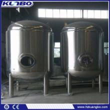 Acier inoxydable de KUNBO 1000L 2000L vendant le baril de réservoir de stockage de pression de bière