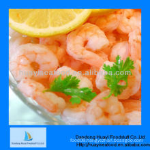 Frozen cooked peeled and deveined tail off shrimp