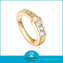 Оптовая 18k золото покрытием серебро кольцо ювелирных изделий для женщин (Р-0405)