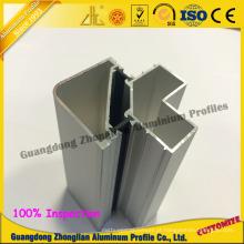 Extrusão de perfil de alumínio para moldura de janela de alumínio