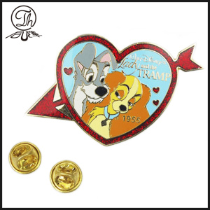 Cartoon Heart enamel pin badge