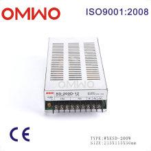 200W Wxsd-200d-12 Single Output DC to DC Converter