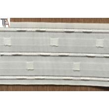 Bande de rideau en polyester avec largeur de 8,2 cm