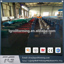 Advanced technology guardrail roll forming machine