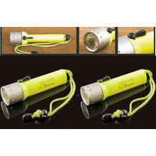30 Meters Magnetic Switch Control Diving Flashlight