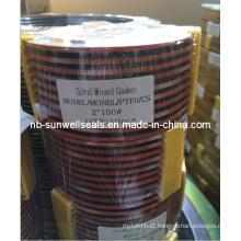 Monel400PTFE/Spiral Wound Gaskets/Swg/Spw/Wri