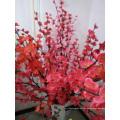 A flor com decoração de seda da decoração da família